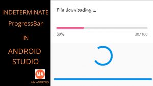 Android Indeterminate Progress Bar