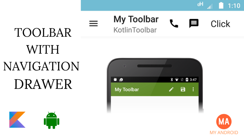 Custom Toolbar With Style In Kotlin
