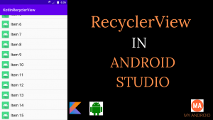 Android RecyclerView Example Kotlin